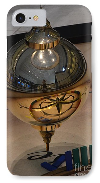 IPhone Case featuring the photograph Foucalt's Pendulum by Robert Meanor