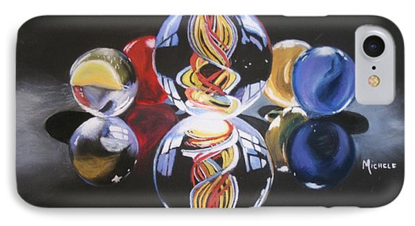 Found Marbles IPhone Case