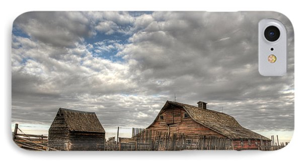 Found On The Prairies IPhone Case by Vivian Christopher