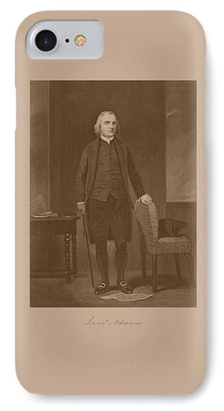 Founding Father Samuel Adams Phone Case by War Is Hell Store