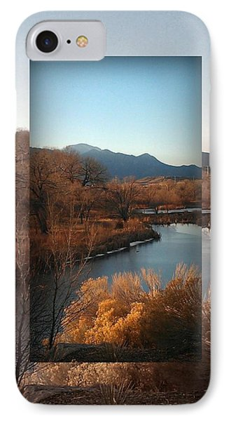 Fountain Creek To Pikes Peak IPhone Case by Michelle Frizzell-Thompson
