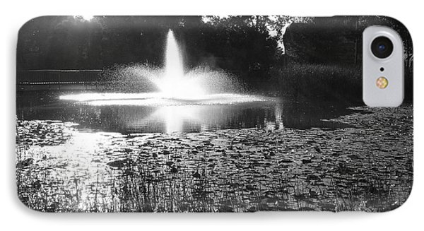 IPhone Case featuring the photograph Fountain by Ginny Gaura