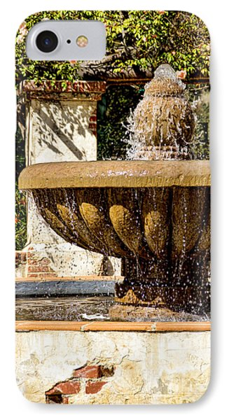 Fountain Of Beauty IPhone Case by Peggy Hughes