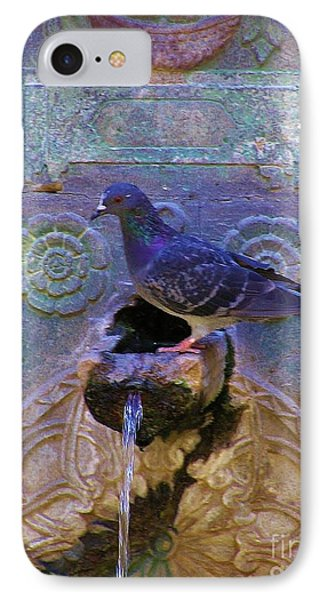 IPhone Case featuring the photograph Rhodes Fountain by Michele Penner