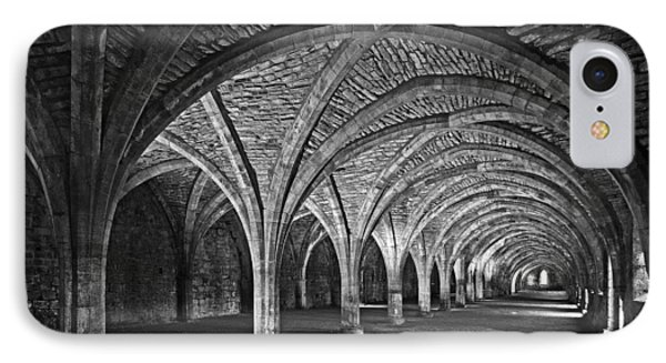 Fountains Abbey Cloister IPhone Case