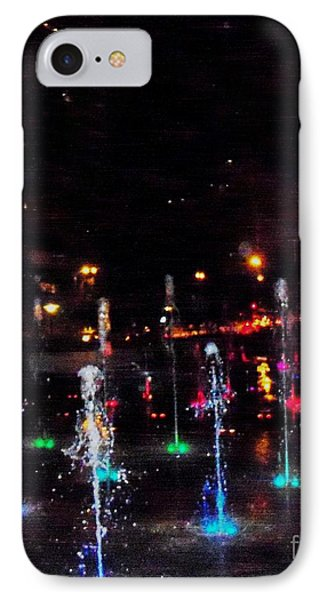 IPhone Case featuring the photograph Fountains At City Garden by Kelly Awad