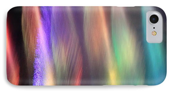 Fountains Of Color Phone Case by James Eddy
