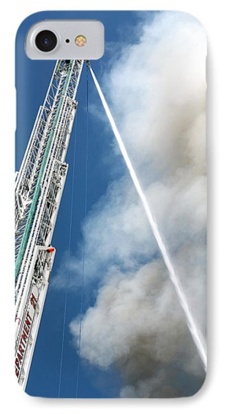 Four Alarm Blaze 001 IPhone Case by Lon Casler Bixby