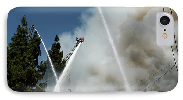 Four Alarm Blaze 003 IPhone Case by Lon Casler Bixby