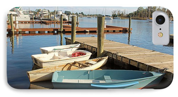 IPhone Case featuring the photograph Four Boats  by Cynthia Guinn
