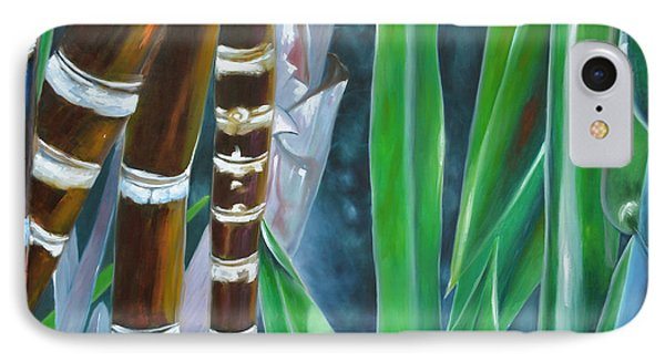 Four Canes For Green IPhone Case