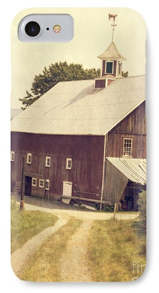 Four Corners Farm Vermont IPhone Case by Edward Fielding