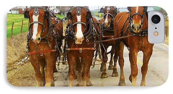 Four Horse Power IPhone Case