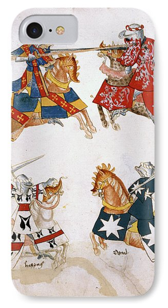 Four Knights Jousting IPhone Case
