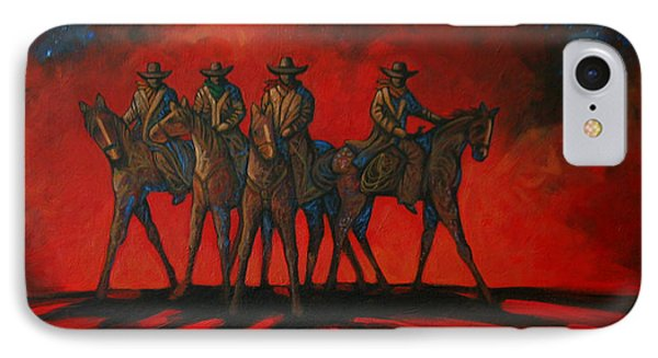 Four On The Hill Phone Case by Lance Headlee