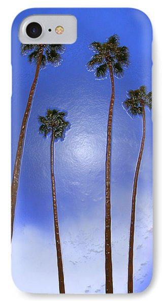Four Palms 2 IPhone Case by Andre Aleksis