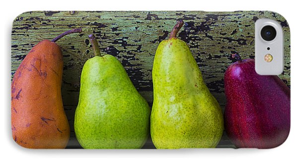 Four Pears IPhone Case by Garry Gay