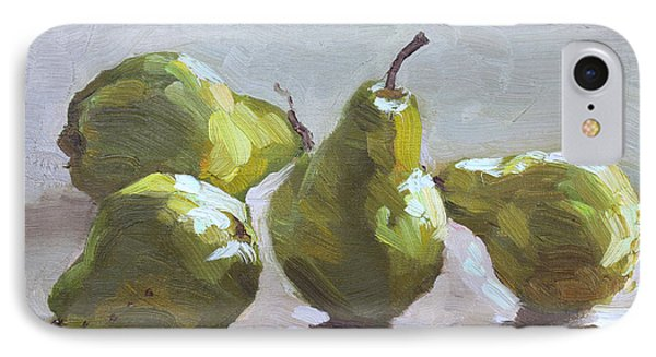 Four Pears IPhone Case by Ylli Haruni