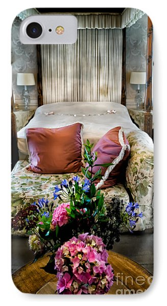Four Poster Bed IPhone Case by Adrian Evans