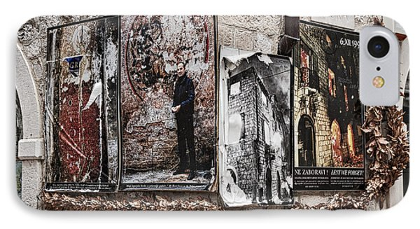 Four Posters IPhone Case by Stuart Litoff
