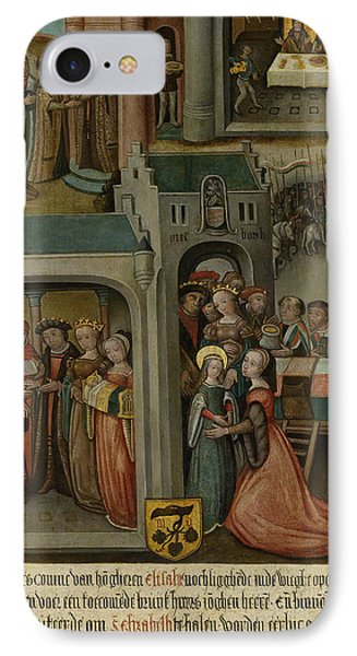 Four Scenes From The Legend Of St Elizabeth Of Hungary IPhone Case