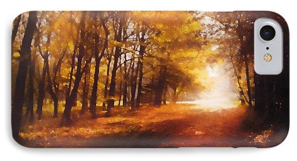 Four Seasons Autumn Impressions At Dawn IPhone Case