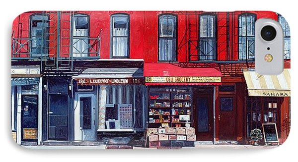 Four Shops On 11th Ave IPhone Case by Anthony Butera