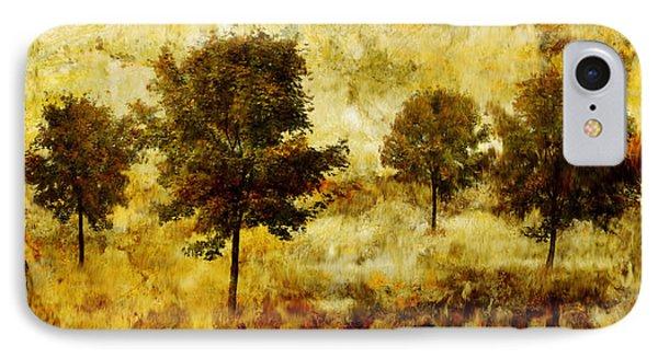 Four Trees Phone Case by John Edwards
