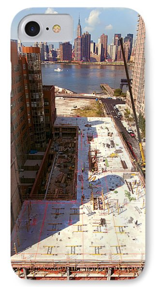 Fourth Floor Slab IPhone Case by Steve Sahm