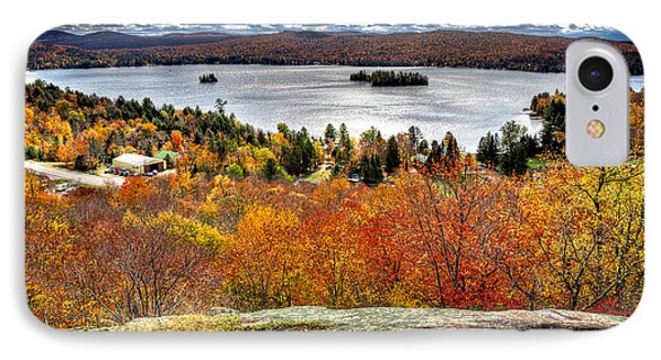 Fourth Lake From Above IPhone Case by David Patterson