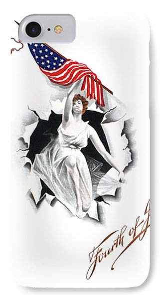Fourth Of July IPhone Case by Granger