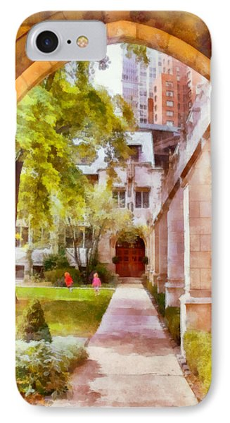 Fourth Presbyterian - A Chicago Sanctuary IPhone Case by Christine Till