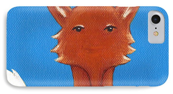 Fox Phone Case by Christy Beckwith