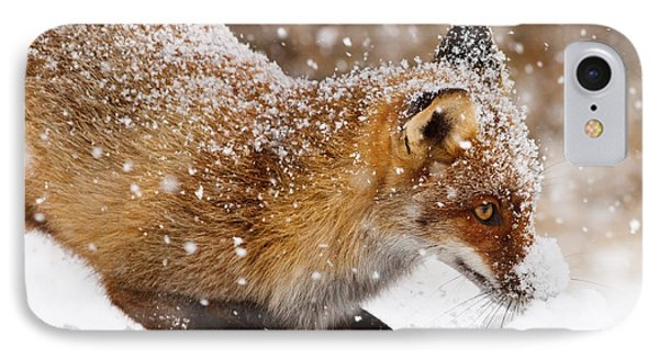 Fox First Snow IPhone Case