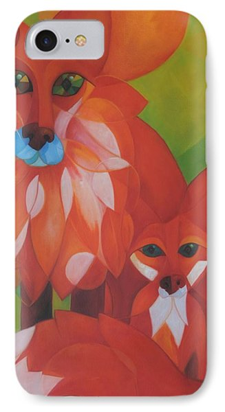 Fox Haven Phone Case by Denise Fisher