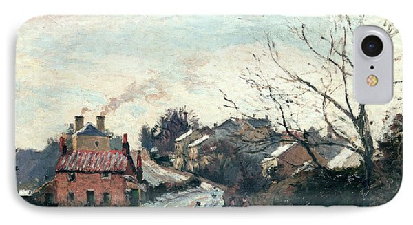 Fox Hill Upper Norwood IPhone Case by Camille Pissarro