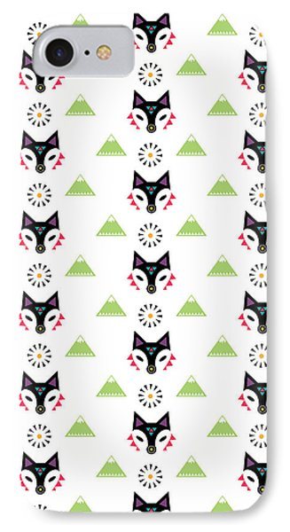 Fox Mountain IPhone Case by Susan Claire