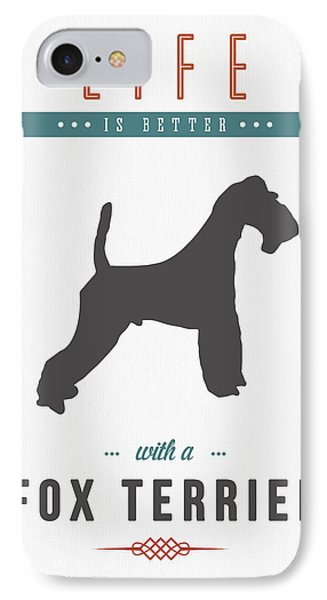 Fox Terrier 01 IPhone Case