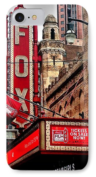 Fox Theater - Atlanta IPhone Case