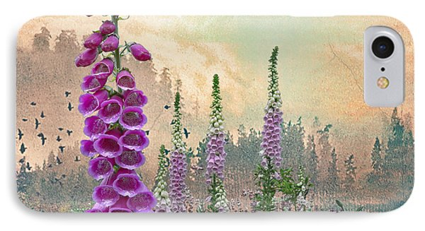 Foxglove In Washington State IPhone Case