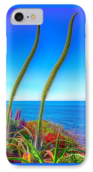 Foxtails On The Pacific Phone Case by Jim Carrell