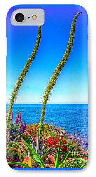 IPhone Case featuring the photograph Foxtails On The Pacific by Jim Carrell
