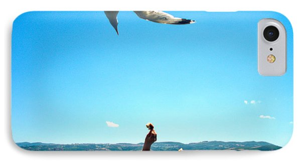 IPhone Case featuring the photograph Foxtrot For Food by Zafer Gurel