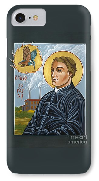 IPhone Case featuring the painting Fr. Gerard Manley Hopkins The Poet's Poet 144 by William Hart McNichols
