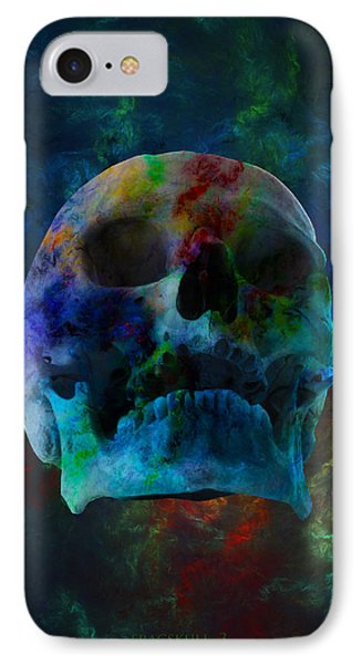 Fracskull 3 IPhone Case by Chris Thomas