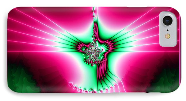 Fractal 11 Holy Spirit Phone Case by Rose Santuci-Sofranko