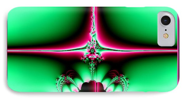 Fractal 14 Star Of Bethlehem  Phone Case by Rose Santuci-Sofranko