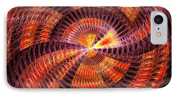 Fractal - Abstract - The Constant Phone Case by Mike Savad