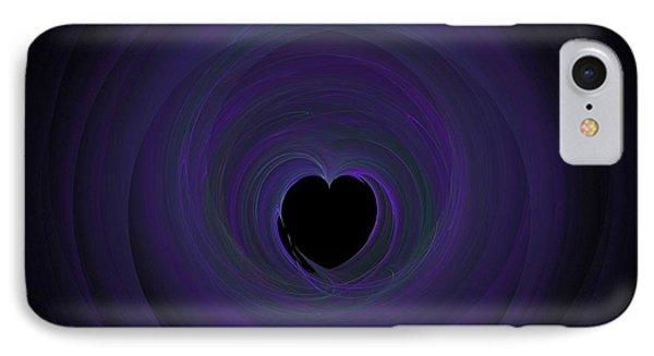 IPhone Case featuring the digital art Fractal Blue by Henrik Lehnerer