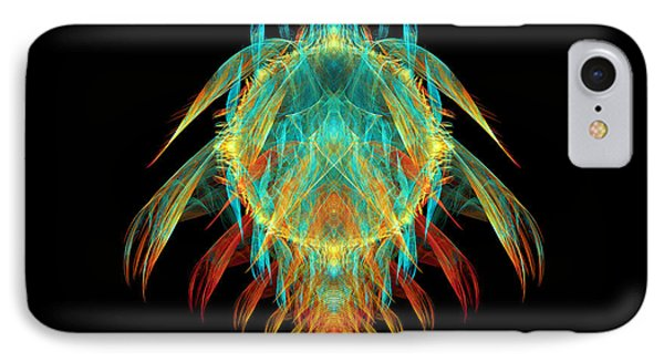 Fractal - Insect - I Found It In My Cereal Phone Case by Mike Savad